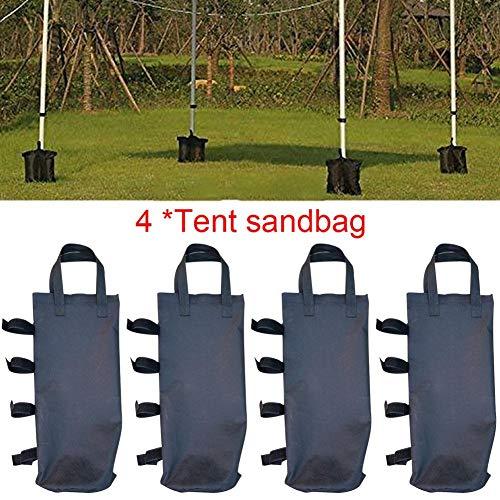 Liteness Gazebo Weights Leg, Set of 4 Gazebo Foot Leg Pole Large Sandbag Weight for Marquee Market Stall tents and Sun Shade Sand Bag