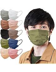 アイリスオーヤマ マスク 不織布 プリーツマスク ふつうサイズ カラーマスク APN-60L
