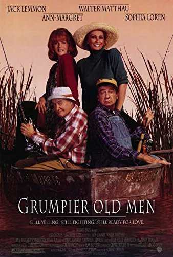 Grumpier Old Men (1994) 27 x 40 Movie Poster - Style A by MG Posters