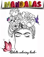 Butterfly Coloring Book For Adults: Butterfly Adult Coloring Book Beautiful Garden: Over 100 Pages Butterflies Garden, Flowers, Patterns, Fun and Stress Relief, Large Print Relaxing Adult Coloring Book Best Gift