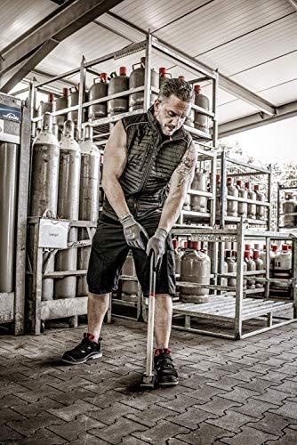 3 Paires Gants de travail Nitras 8800 EN 388 Ajustement flexible - Gants de mécanicien Gants de montage Gants de protection Gants de jardinage Gants multi-fonctions (XS)