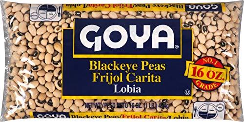 Goya Foods Blackeye Peas, Dry, 1 Lb Bag