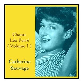 Chante léo ferré (volume 1)