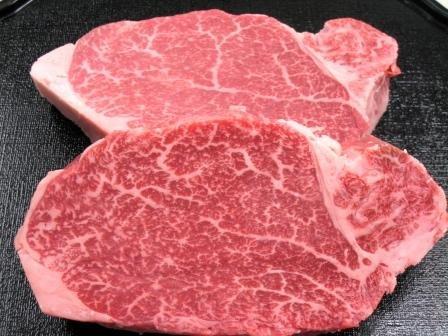 松阪牛 シャトーブリアン ヒレステーキ 100g×2枚 高級桐化粧箱入り 超希少部位 A4 A5 特産
