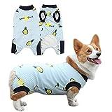 CJCSM Ropa para Perros, Camiseta para Perros, Abrigo de Jersey de Cachorro de Manga Corta, Pijamas de algodón para Perros, Chaleco para Perros, Ropa de Mono Suave para Perros y Gatos