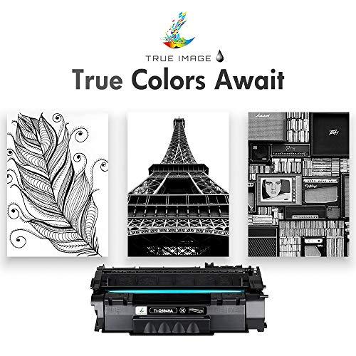 True Image Compatible Toner Cartridge Replacement for HP 49A Q5949A 49X Q5949X 53A Q7553A Laserjet 1320 1320n 3390 1160 1320tn 1320nw 3392 P2015 P2015dn M2727nf M2727 (Black, 2-Pack)