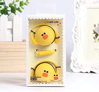 Cartoon Cute Earphones With Mic 3.5 Mm Stereo In-Ear Girls Kids For Phone Mp3 Gifts Bear Rabbit Ducksuitable For Mobile Phones Computer Cds Etc