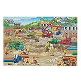 Butterfly Goods Construction Crowd Worker - Puzzle (500 unidades, madera, 200 piezas), diseño de cocodrilo, color blanco