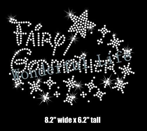 Xuccus Fairy Godmother Our shop OFFers the best Max 75% OFF service Pixie Dust Motif fix hot Rhinestones Wand