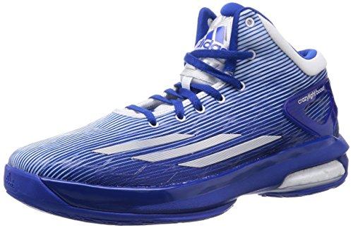 Adidas Crazylight Boost, blu / bianco, 8,5 M Us