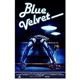 PDFKE Blue Velvet Movie Art Print Leinwand Malerei