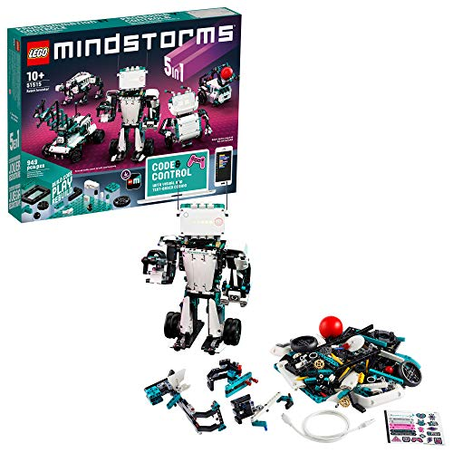 LEGO MINDSTORMS Robot Inventor Building Set 51515; STEM Model Robot Toy for Creative Kids with...