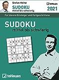 Stefan Heine: Sudoku mittel bis schwierig 2021