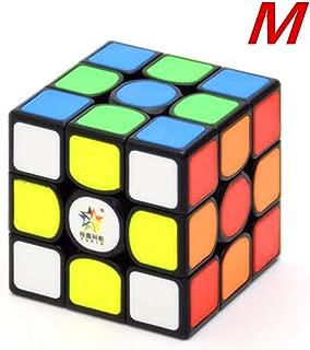CuberSpeed Yuxin Kylin 3x3 Black Tiles Magnetic Cube Yuxin 3x3x3 stickerless Speed Cube (Magnetic Version )
