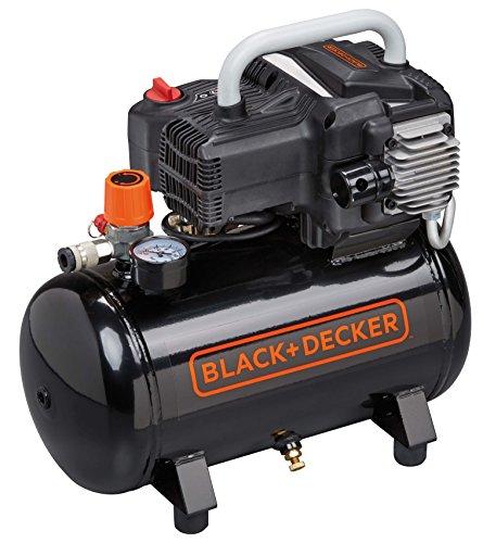 BLACK+DECKER NKBN304BND309 Compressore d'Aria, 230 V, Nero, BD195/12 NK