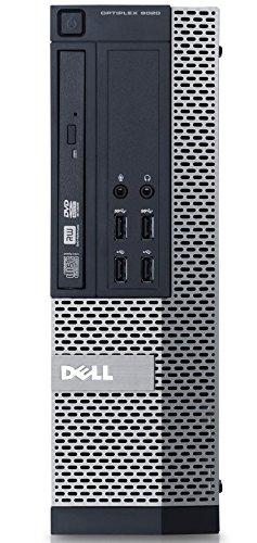 Strategic K6KFV Dell Optiplex 9020 Intel Core i5-4590 3.3 GHz Desktop, 8 GB RAM, Windows 7 Professional