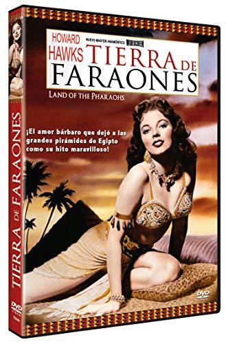 Tierra de Faraones DVD 1955 Land of the Pharaohs