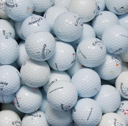 Second Chance 100-CAL-BOX - Lote de 100 Bolas de Golf recuperadas de Lagos de Varios Modelos Clase B Callaway