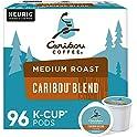 96-Count Caribou Coffee Caribou Blend, Single-Serve Keurig K-Cup Pods