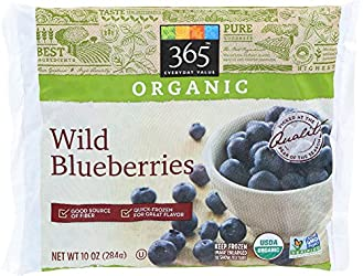 365 Everyday Value, Organic Wild Blueberries, 10 oz, (Frozen)