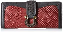 Hidesign Womens Wallet (Marsala Red)