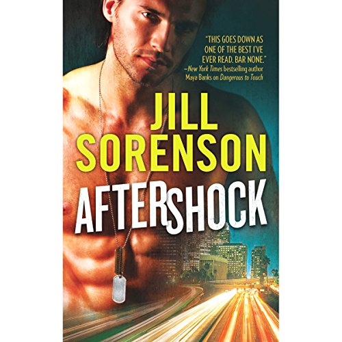 Aftershock audiobook cover art