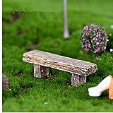 Zonfer Puppenhaus Aus Holz Park, Simulation Miniatur-möbel Stuhl Park Seat. Mini Art DIY Craft...