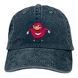 Tymeihao Gorras de béisbol Gorra Deportiva Casual Unisex Adulto Ugandan-Knuckles Sombrero de Vaquero Lavado de Moda Retro de Camionero Ajustable Sombrero de papá Sombrero de camión