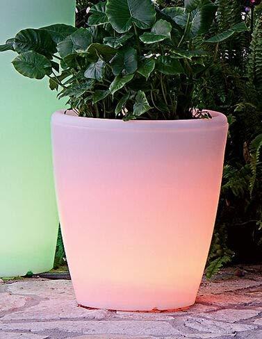Solar Illuminated Planter, Medium
