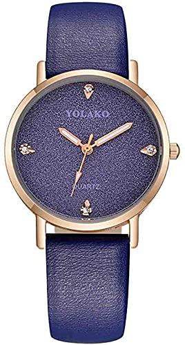 Mano Reloj Reloj de Pulsera Japón Cuarzo Classic Mujer Minimalista Reloj Hombres Árabe Plata Plata Blanco Malla de Cuero de Cuero de Acero Inoxidable Correa de imán Relojes Decorativos Casuales