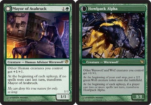 Magic: the Gathering - Mayor of Avabruck // Howlpack Alpha - Innistrad - Foil