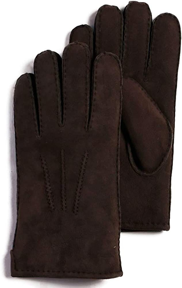 frr Men's Cheap mail order sales Minnesota Suede Gloves Sheepskin Limited time for free shipping Shearling