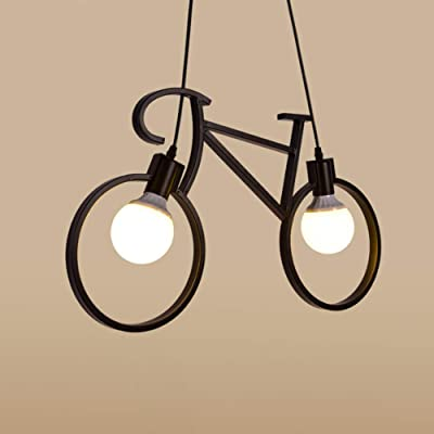 Araña, Araña De Bicicleta De Hierro Forjado Creativo Retro ...
