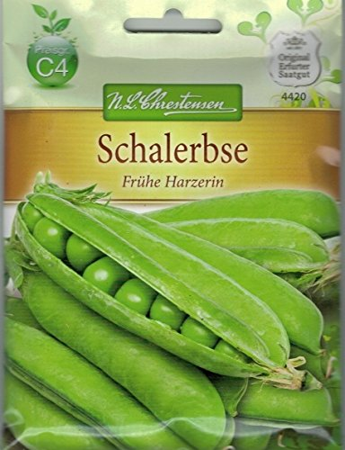 Chrestensen Schalerbsen 'Frühe Harzerin' Saatgut