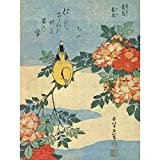 Wee Blue Coo LTD Painting Japanese Bird Flowers FLORAL