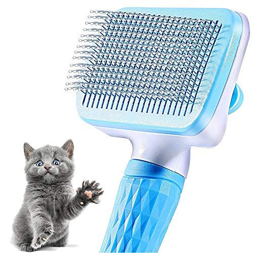 LLMZ Cepillo Para Mascotas 1PCS Cepillo De Limpieza Para Mascotas Peine Para Mascotas Para Enredos, Nudos y Subpelos - Pelo Corto y Pelo Largo