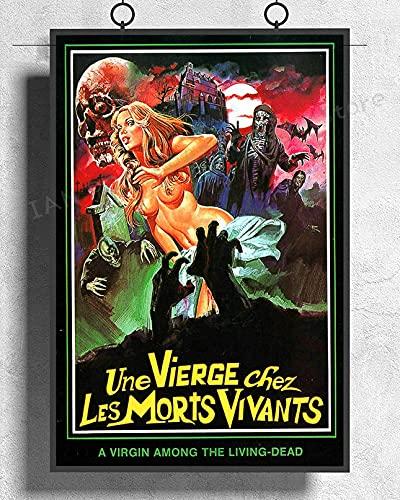 Aaubsk Puzzle 1000 Pezzi La Vergine del Film Horror sugli Zombie rari di Halloween è Viva Puzzle 1000 Pezzi Arte Puzzle educativi intellettuali decompressivi Giocattolo Divertenti g50x75cm(20x30inch)