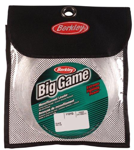 Berkley Trilene Big Game Monofilament Leader Coil, farblos, 110 Yd, Pound Test 400