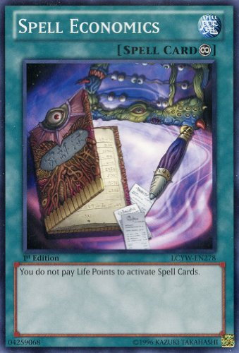 Yu-Gi-Oh! - Spell Economics (LCYW-EN278) - Legendary Collection 3: Yugi's World - 1st Edition - Common