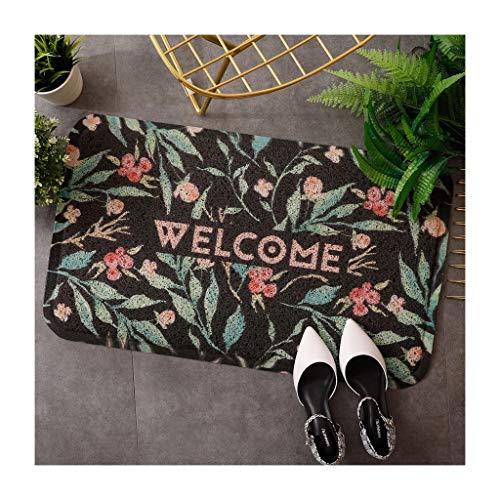 &tapis de salon Tapis de porte Tapis de protection contre la saleté, l'absorption d'eau et la cuisine antidérapante couvertures (Couleur : B, taille : 80 * 120cm)