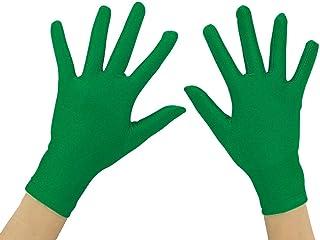 "Shinningstar Adult 10"" Wrist Length Lycra Spandex Full Finger Stretchy Short Gloves"