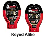 Winner International Tire Claw XL Lock - ATV, Auto, Trailer Locks #491KA-2