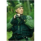Richard Dean Anderson 8 inch by 10 inch PHOTOGRAPH Stargate SG-1 Stargate: Continuum Stargate: The Ark of Truth On a Mission Hat Backwards Holding Binoculars kn