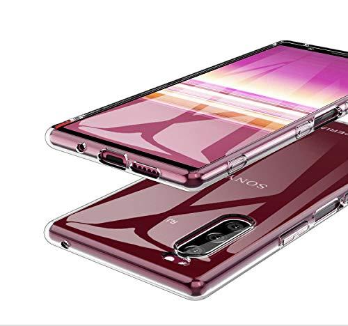 MARR TPU Schutzhülle Kompatibel mit Sony Xperia 5 Hülle Klar Crystal Durchsichtige Flexibel Silikon Handyhülle für Sony Xperia 5 - Transparent