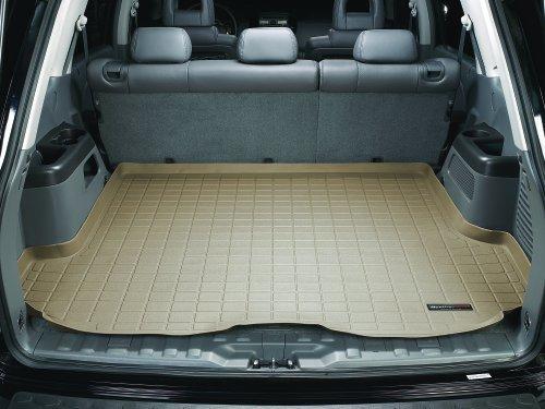Black 443331 WeatherTech Custom Fit Front FloorLiner for Porsche Cayenne