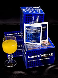 Nature's Youth RSF Amino Acid Booster, Anti-Aging Powder, Secretagogue Gold Rejuvenation Support Formula