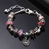 Immagine 1 a te bracciale charm rosa