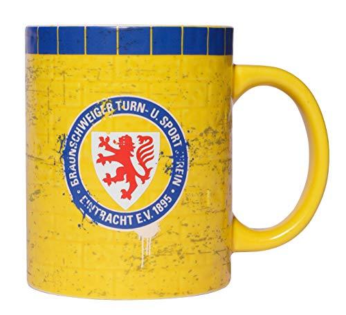Eintracht Braunschweig Tasse, Becher, Kaffeetasse Mauer