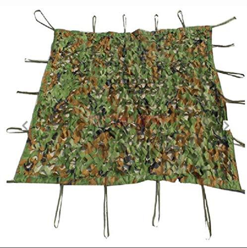 XUZg-wFence Red de camuflaje para camping, caza, pesca, jardín, juego C-S, protección solar, decoración para el coche, tela oculta (tamaño: 10 m x 20 m)
