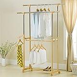 Balcón de secado de estantes dormitorio simple suspensión colgante doble palanca economía del hogar balcón ropa de sol estante